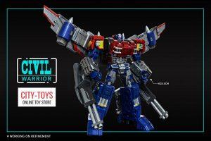 Civil Warrior CW01 General Grant Optimus Prime
