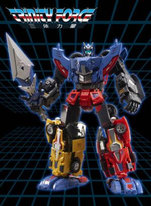 TFC – Trinity Force – Set of 3 Combiner aka Transformers Victory Road Caesar