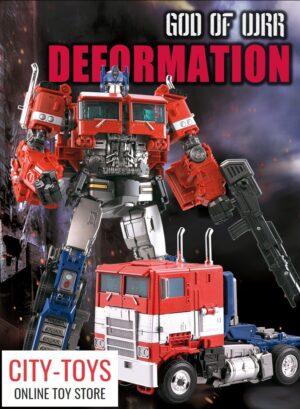 Model Wizard KO SS38 - 8616 - God of War Optimus Prime