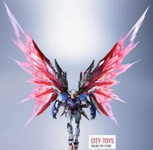 Metal Club METAL BUILD Destiny Gundam (Blue Version) + Wings of Light