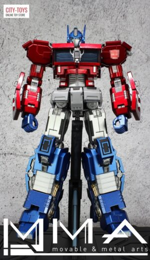 Movable Metal Arts - MMA - IDW Optimus Prime
