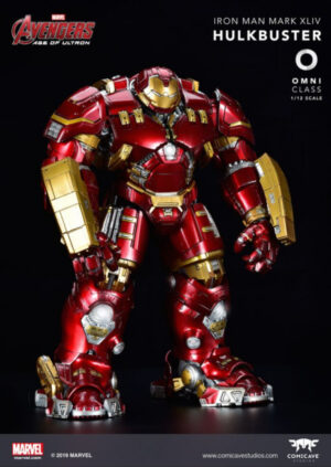 Comicave IRON MAN MARK 44 HULKBUSTER 1:12 SCALE