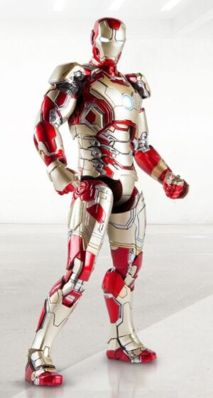 Comicave MK42 1/12 Super Alloy Fully Articulated Iron Man Mark XLII