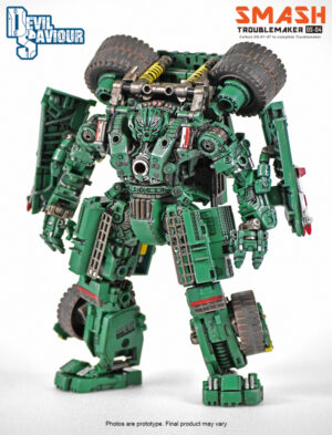 DS-04 - Toublemaker - Smash - 8 Combiners The Right Leg