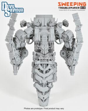Devil Saviour - DS-06 - Toublemaker - Sweeping - 8 Combiners Left Leg
