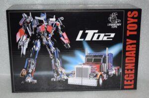 WeiJiang Legendary Toys LT02 Transformer Optimus Prime KO MPM4