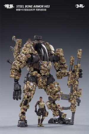 JOYTOY - Steel Bone Armor H03 - Desert camouflage