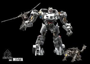Newage - NA XM1-B - Mista with Soundwave Laserbeak Ravage