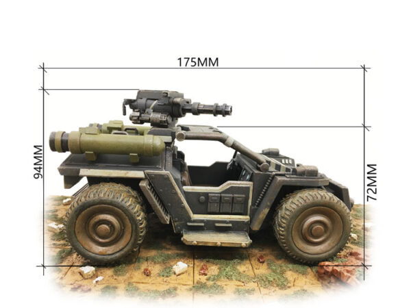 Rhino Assault Reconnaissance Vehicle
