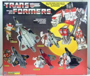 TRANSFORMERS KO G1 Superion Combiner