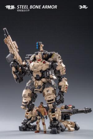 Steel Bone Armor Desert