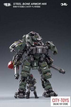 JOYTOY – Steel Bone H05 – Heavy Firepower Armor – Military Green
