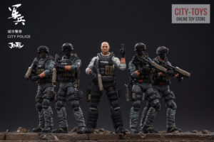 JOYTOY City Police Riot Team