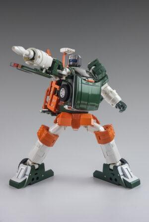 X-Transbots - MX-9T - Paean - Cartoon Version