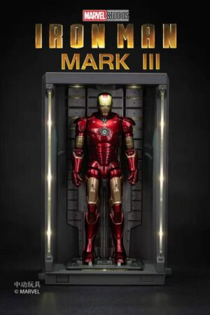 ZD TOYS Iron Man Mark 3 and Hall of Armor