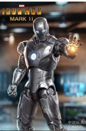 ZD TOYS Iron Man Mark 2 and Hall of Armor