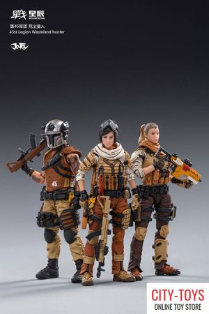 JOYTOY 45ST Legion Wasteland Hunter 荒尘猎人三人组