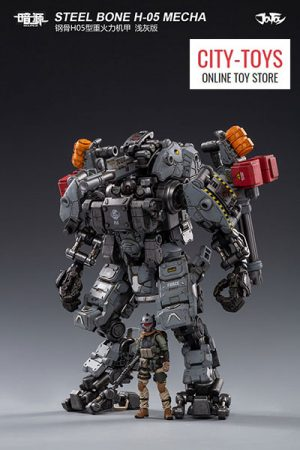 STEEL BONE H-05 Heavy firepower MECHA (grey)