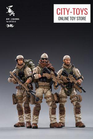 JOYTOY U.S.ARMY Delta Force 美国陆军三角洲部队