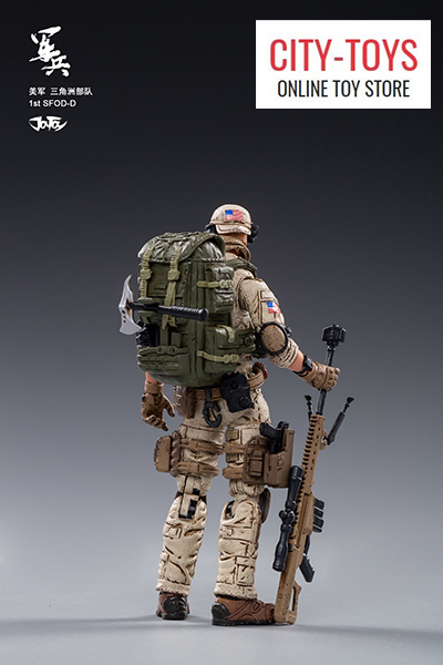 JOYTOY U.S.ARMY Delta Force 美国陆军三角洲部队