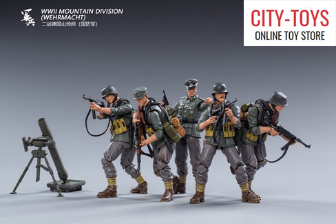 joytoy  wwii mountain division wehrmacht 二战德国山地师