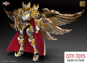 Armor Hero - Emperor Chivalry - Alpha Animation - SnapToy - HeatBoys