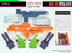 DNA - DK-19 - WFC-E25 Scorponok Upgrade Kits
