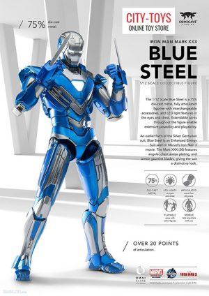 Comicave MK30 Blue Steel Ironman