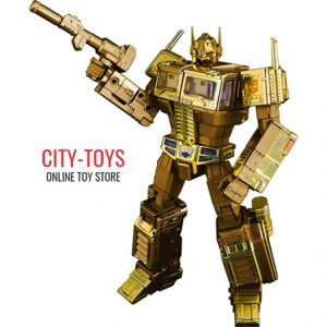 MP10 Convoy Golden Lagoon Exclusive Optimus Prime