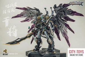 Motor Nuclear MN Q04 Black Dragon