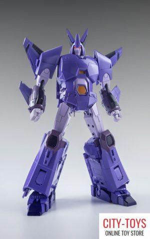 X-Transbots MX-3+ Eligos and Truncheon Metallic Version