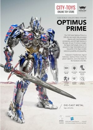 COMICAVE Optimus Prime