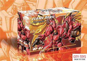 JINBAO DF07 FLAME DEVIL MEGATRON DRAGON
