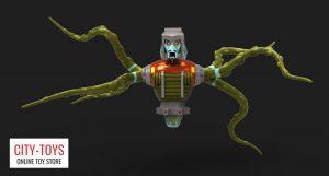 X-Transbots MX19B Polpus Quintesson Inquisitors