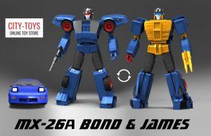 X-Transbots MX26A Bond James Counterpunch