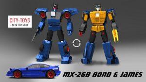 X-Transbots MX26B BOND JAMES Japan Ver