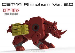 KFC CST14 Rhinohorn Ramhorn V2