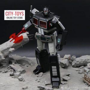 Transform Element TE01 Optimus Prime Nemesis Black