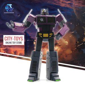 Transform Element TE01 Optimus Prime Shattered Glass Purple