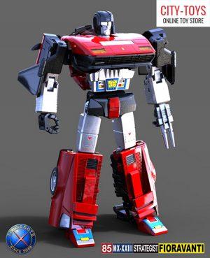 X-Transbots MX23 Strategist Fioravanti Overdrives